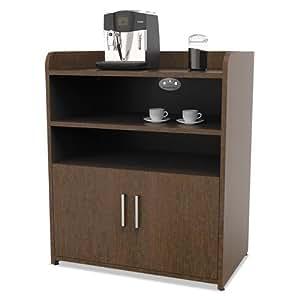 Linea italia tr757moc trento line storage for Kitchen cabinets amazon