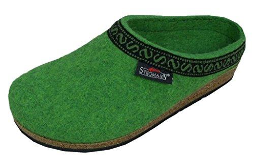 Stegmann Women's Wool Clog, Lime