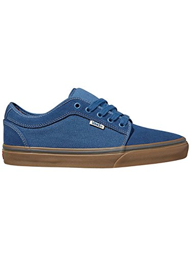 blue Sneakers Low labels Vans Chukka Herren gum fzR1X