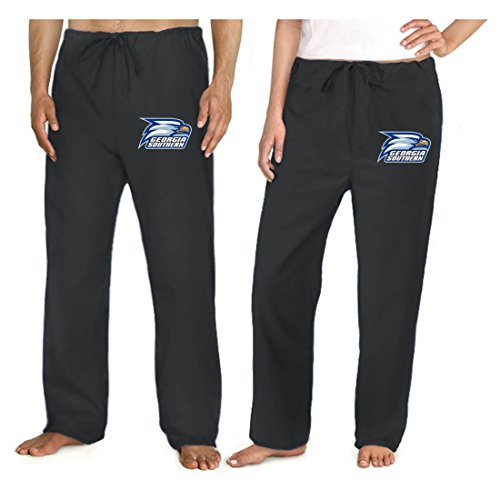 (Georgia Southern Scrub Pants Scrubs Drawstring Bottoms for Men or Ladies! SM Black)
