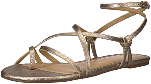 Splendid Women's Flynn Sandal, Champagne, 7 Medium US by Splendid (Image #1)