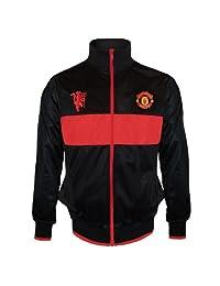 Manchester United Football Club Soccer Gift Boys Retro Track Jacket 12-13 Yr XLB