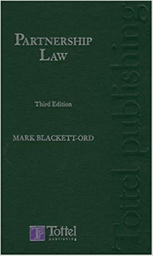 Partnership Law: Third Edition
