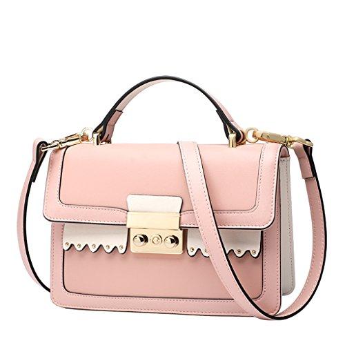 Femmes Bag 4 Cuir Paquet Sacs 3 Petit Sac Lady Couleur Messenger en Portable 0fgPqz