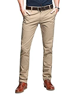 Match Mens Slim Tapered Flat Front Casual Pants (B00L1ZEYKA) | Amazon price tracker / tracking, Amazon price history charts, Amazon price watches, Amazon price drop alerts