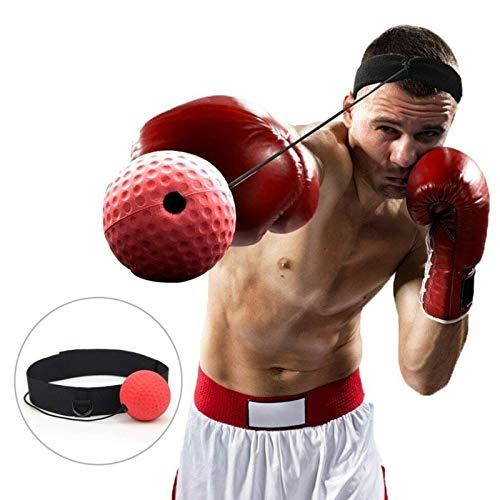 Formazione Head-Mounted Boxing Raising Portatile Forza di Reazione Lanceasy Boxe Lotta Palla Reflex Pugilato Punch Attrezzature per La Boxe