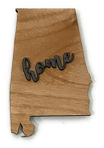 (Alabama State Magnet Keepsake Decoration Holiday Gift Home Party)