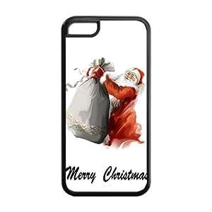 Fashion Christmas Gift,Santa Claus pc pc Case Cover For IPhone 5C (Christmas Gift,Santa Claus)