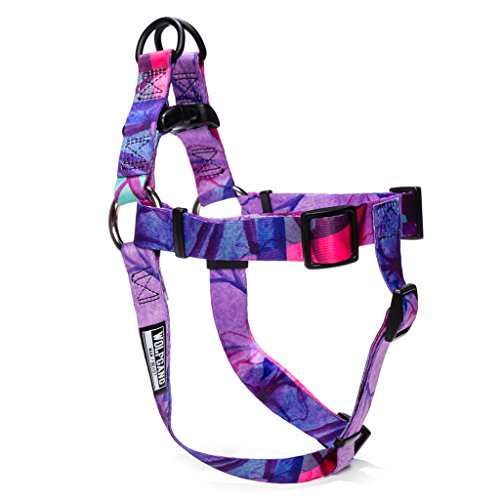 -  Wolfgang Man & Beast Dog Harness | Adjustable & Comfortable Webbing Harnesses - DayDream Print - Matching Collection w/Collar, Leash, Harness
