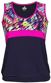 Camiseta Tirantes Pádel Mujer J´HAYBER Print Blue-Pink. DS3196. Talla M