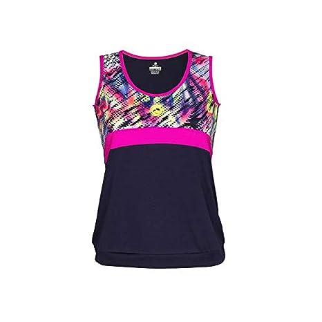 Camiseta de Tirantes Mujer Pádel JŽHAYBER Print Blue-Pink. DS3196 ...
