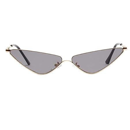 Amazon.com: Berryhot - Gafas de sol de diseño retro, con ...