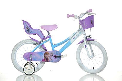 16 Zoll Frozen Eisprinzessin Kinderfahrrad Kinderrad Fahrrad Spielrad Rad