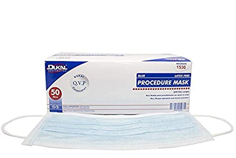 Loop Sterile Procedure pack Ear With Mask Non Dukal 1530 Blue
