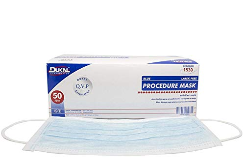 Mask Non Procedure Loop Blue 1530 Sterile With Ear Dukal pack