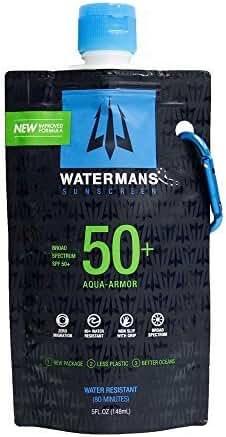 Watermans SPF 50+ Aqua Armor Lotion 5 oz by Watermans Sunscreen