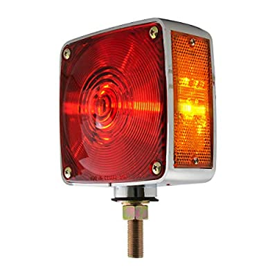 GG Grand General 80350 Light (Clear Plastic Square Double Face Combination, 2 Wires): Automotive