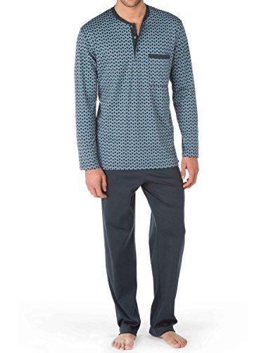 Calida Pajama - CALIDA mens 100% cotton knit mens pajamas NORRMALM 45566 (small, 989)
