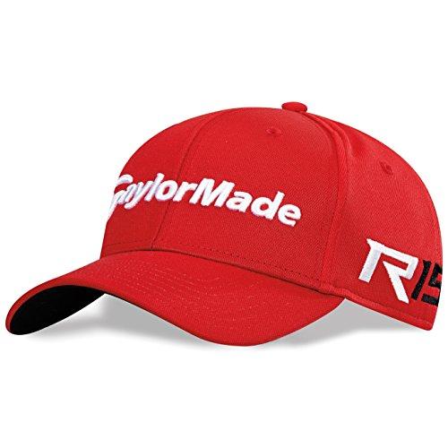 New 2015 Taylormade Golf Tour Radar R15 Adjustable Hat/Cap COLOR: Red