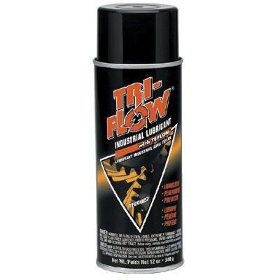 - Industrial Lubricants - 12-oz. aerosol tri-flowlubricant w [Set of 12]