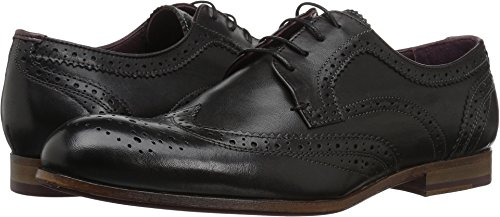 Ted Baker Hombres Granet Oxford Black Leather