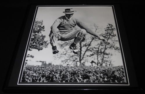 (Sam Snead Jumping Framed 12x12 Photo Poster)