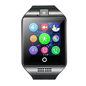 CNPGD [US Office & Warranty Smart Watch] & Watch Cell Phone for iPhone, Android, Samsung, Galaxy Note, Nexus, HTC, Sony (Black, L)