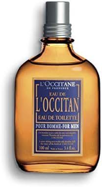 L'Occitane Fresh Eau de Toilette for Men, 3.4 Fluid Ounce