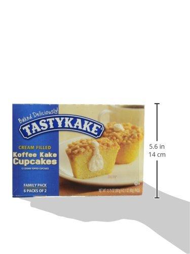 Cream Filled Tastykake Koffee Cakes