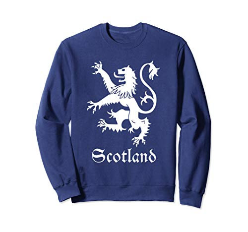 (Scottish Lion Rampant Sweatshirt Scotland Coat Arms Gift)