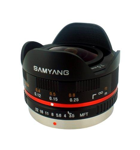 Samyang SY75MFT-B 7.5mm f/3.5 Lens for Micro Four Thirds