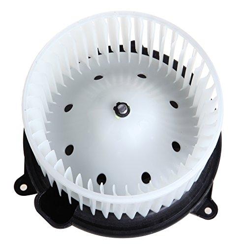SCITOO ABS Plastic Heater Blower Motor w/Fan HVAC Resistors Blowers Motors Replacement fit for 2004 Nissan Pathfinder /2004-2010 Infiniti QX56 /2004-2008 Nissan Titan /2005-2015 Nissan Armada Front