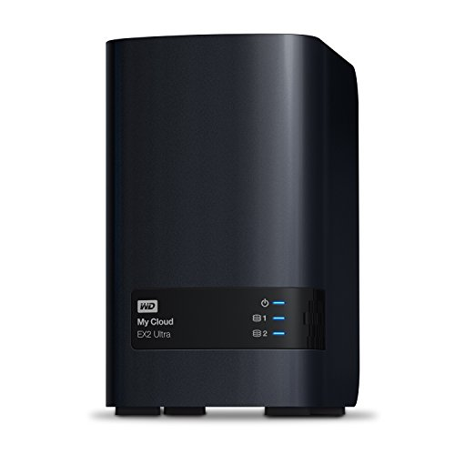 WD 12TB My Cloud EX2 Ultra Almacenamiento en Red