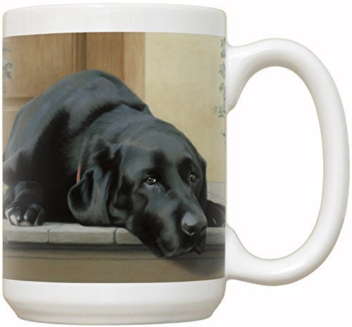 - Black Labrador Retriever Coffee Mug with Quote