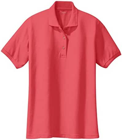 Ladies Short Sleeve Polo Shirts in 36 Colors and Sizes XS - 6XL