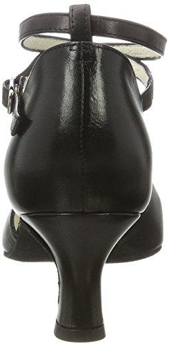 cm Femmes 5 Werner Kern Danse Chaussures Noir Betty Cuir de 5 v6PwqxpHU