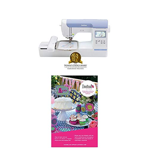 Monogram Wizard - PE800 with Initial Stitch Embroidery Lettering & Monogramming Software