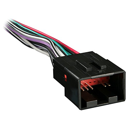 Metra 70-1771 Radio Wiring Harness for Ford/Lincoln/Mazda 1998-Up into Car, 16 Pin - Harness Metra Electronics