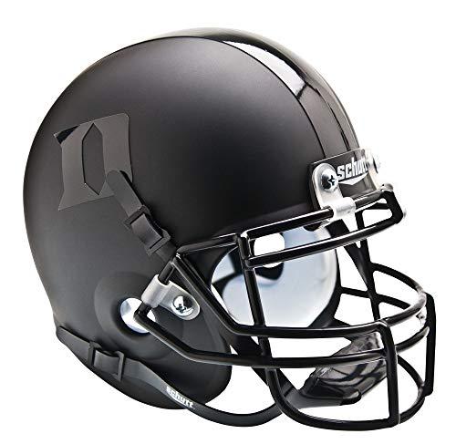 (NCAA Duke Blue Devils Collectible Alt 2 Mini Helmet, Matte Black)