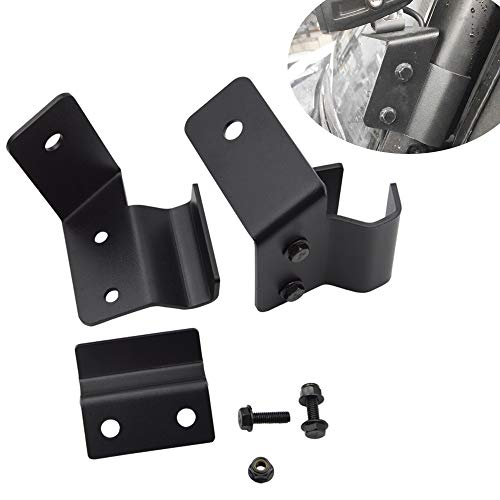 Front Side Pillar Pro-fit Cage Mounting Brackets For 2015 2016 2017 2018 2019 Polaris Ranger XP 570 900 1000 Models (No Drilling -