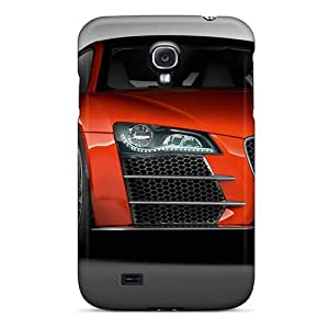 Samsung Galaxy S4 Nyz7333UfFV Special Colorful Design Audi R8 Skin Shock-Absorbing Cell-phone Hard Cover -MansourMurray