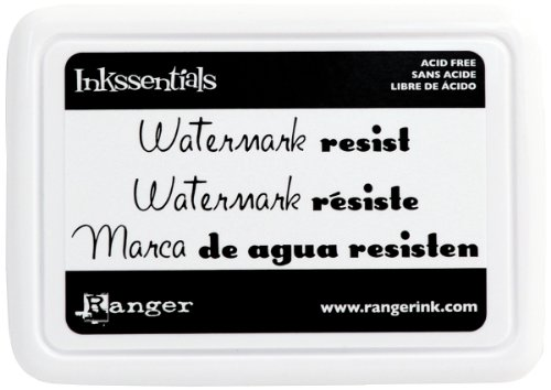r Resist Stamp Pad (Resist Pad)