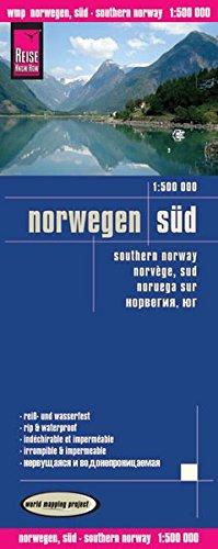 Reise Know-How Landkarte Norwegen Süd (1:500.000): world mapping project (Englisch) Landkarte – Folded Map, 28. Januar 2013 3831772517 Karten / Stadtpläne / Europa Atlanten / Europa Landkarten und Atlanten