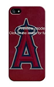 LarryToliver 2014 High Case For Quality Case For HTC One M7 Cover Customizable Baseball Los Angeles Angels For