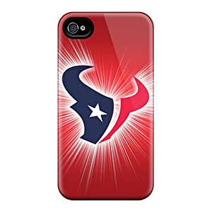 Iphone 4/4s Case Slim [ultra Fit] Houston Texans Protective Case Cover