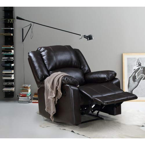 Brown Power Recliner Chair Sofa Couch Power Lift Chair Soft and Warm Fabric with for Gentle for Living Room