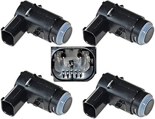 Parking Assist Reverse Proximity System Distance Control Sensor Set Of 4 Fits 2009-2014 Ford F150 Pickup 2009-2014 Lincoln LT (Replaces 9L3Z-15K859-C, 9L3Z-15K859-D) (1804)