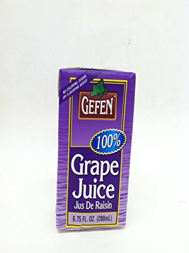 Gefen Juice Brick Grape 10 Pack