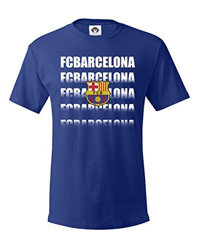 FC Barcelona, Barça, Soccer Graphic Tee, Football Men's T Shirt - Barcelona Graphic T-shirt