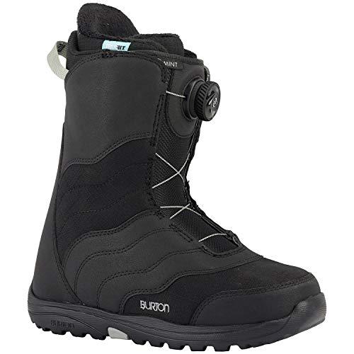 Burton Mint BOA Snowboard Boots Womens Sz 7.5 Black